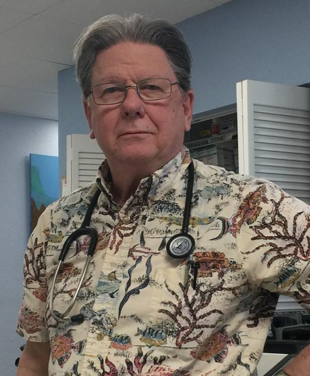 Picture of Good Health Clinic Medical Director - Dr. Steve Lawyer